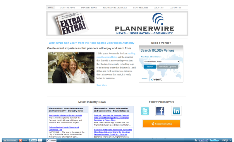 PlannerWire - News Information and Community - Home_1288027992635