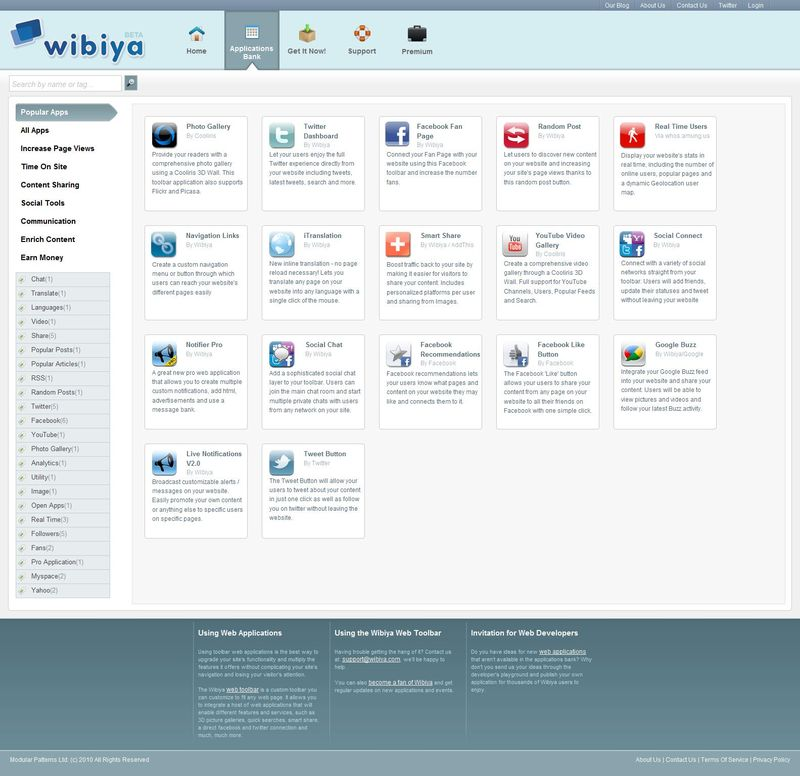 Web Application Bank - Wibiya_1288027924234