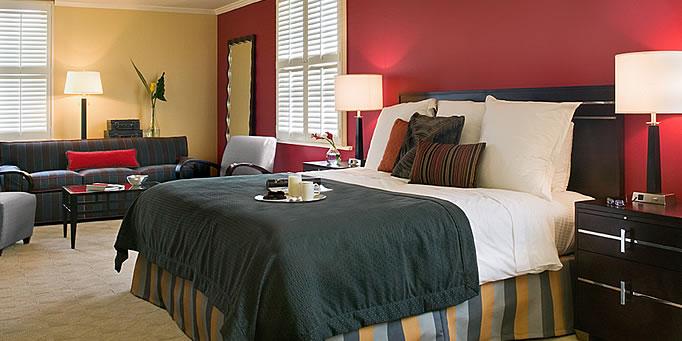 Orrington Hotel Room